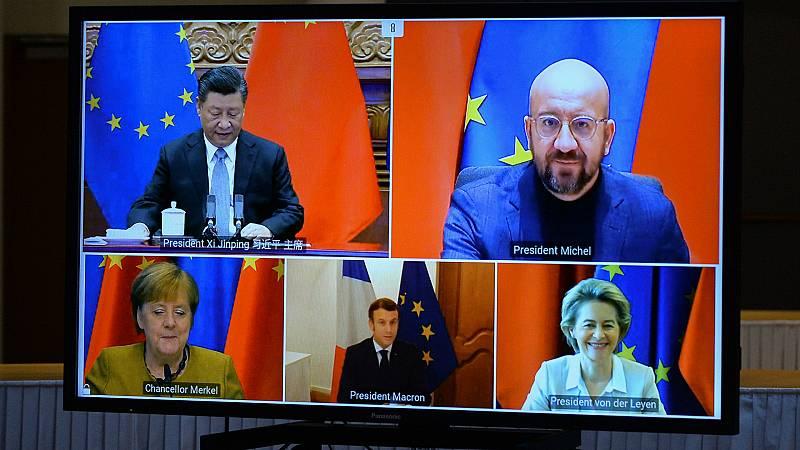 14 horas - La Unión Europea y China cierran un acuerdo de inversiones tras siete años de negociaciones - Escuchar ahora