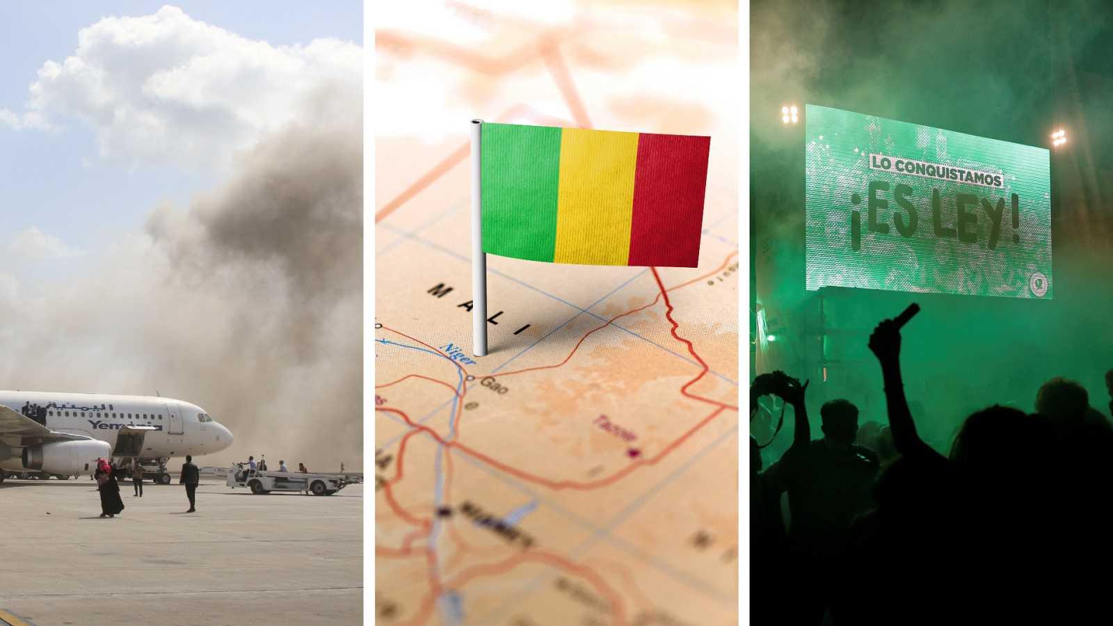 Cinco continentes - Atentado contra el nuevo gobierno de Yemen - Escuchar ahora