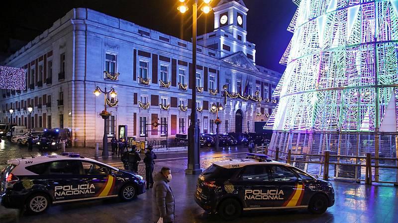 14 horas - La Nochevieja más tranquila: menos incidencias e intoxicaciones etílicas en Madrid - Escuchar ahora