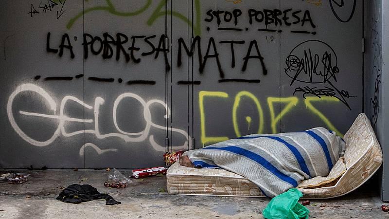 """Reportajes RNE - Frío, calle y covid: el """"quédate en casa"""" de las personas sin hogar - Escuchar ahora"""