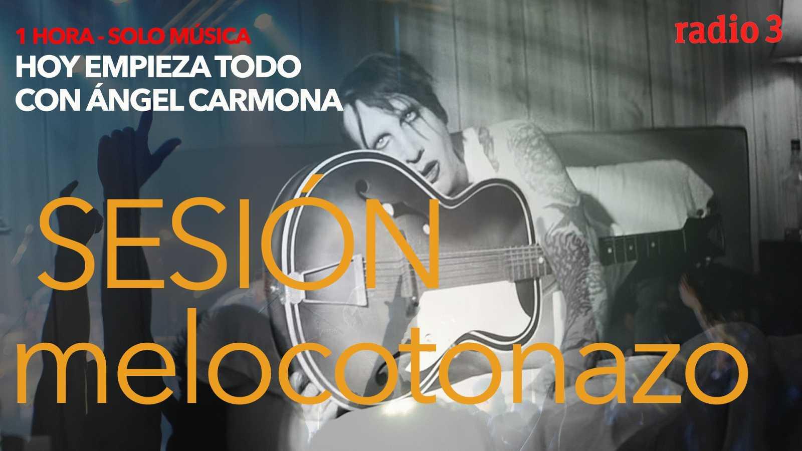 """Hoy empieza todo con Ángel Carmona - """"#SesiónMelocotonazo"""": Marilyn Manson, Queen, The Smashing Pumpkins... - 05/01/21 - escuchar ahora"""