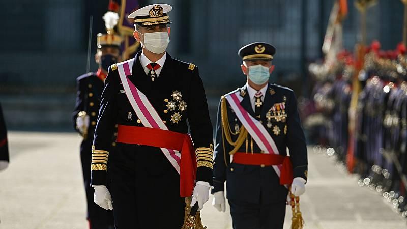 14 horas - El rey subraya el compromiso del Ejército con la Constitución - Escuchar ahora