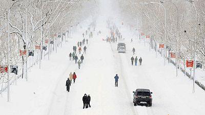 24 Horas Fin de Semana - La AEMET avisa de que Filomena dará paso a una ola de frío intenso - Escuchar ahora