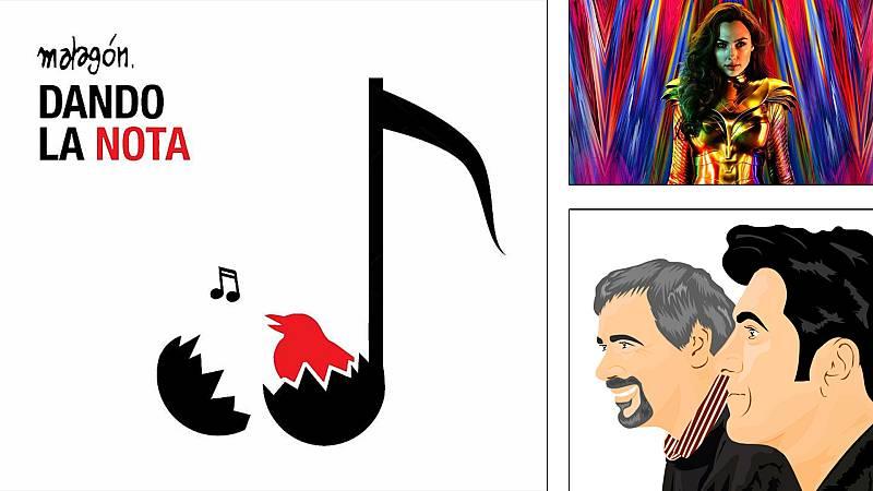 ¡Qué de cómics! - Malagón 'Dando la nota', Wonder Woman, Viñetas y Bocadillos - Escuchar ahora