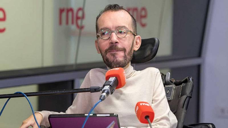 """24 horas - Echenique: """"Cada vez se entiende menos que el PSOE no quiera investigar al rey emérito"""" - Escuchar ahora"""