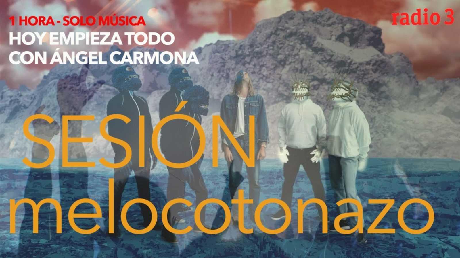 Hoy empieza todo con Ángel Carmona - #SesiónMelocotonazo: The flaming lips, Awolnation, Miss Cafeina... - 13/01/21 - escuchar ahora