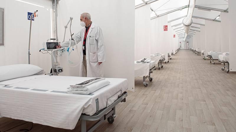 14 horas - El hospital de La Fe amplía su capacidad con un hospital de campaña y cancelando operaciones - Escuchar ahora
