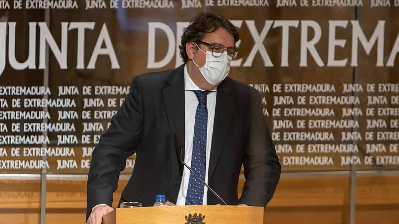 """24 horas - Vergeles: """"En Extremadura hay más positivos porque se hacen más pruebas"""" - Escuchar ahora"""