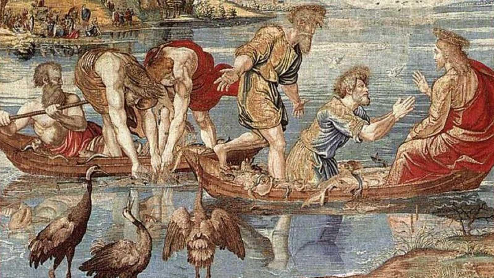 Punto de enlace - Los tapices de Rafael para la Capilla Sixtina, en el Palacio Real - 14/01/21 - escuchar ahora