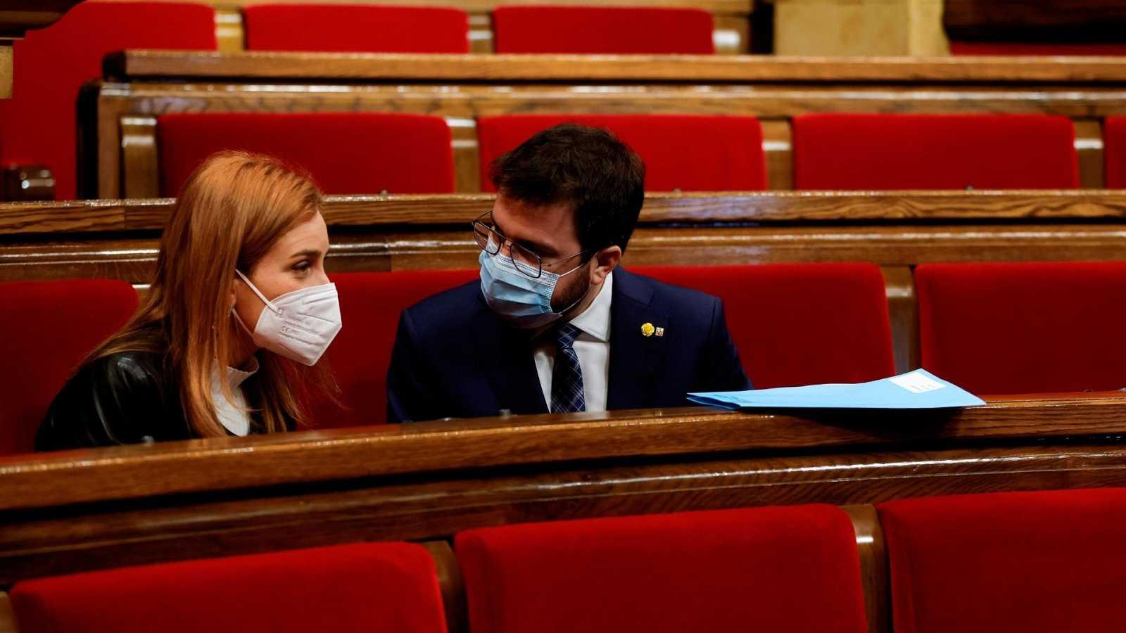 14 horas - El Govern propone que las elecciones en Cataluña sean el 30 de mayo - Escuchar ahora