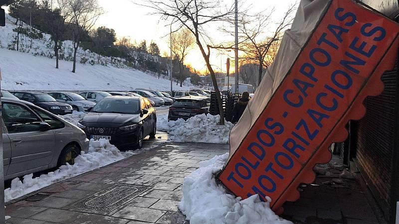 24 horas - Las calles de Madrid una semana después de Filomena  - Escuchar ahora