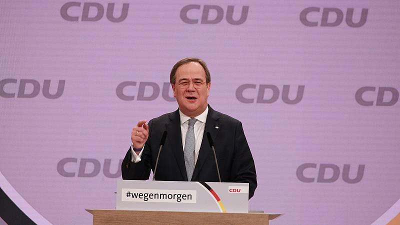 14 horas Fin de Semana - Armin Laschet, nuevo líder de la CDU - Escuchar ahora