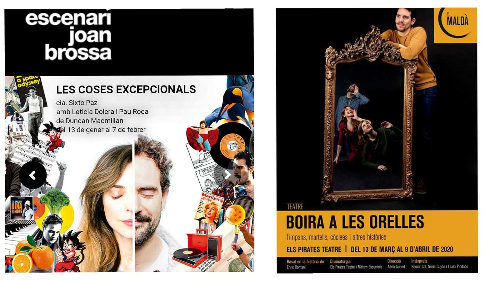 Wonderland - Teatre: Les coses excepcionals i Boira a les Orelles