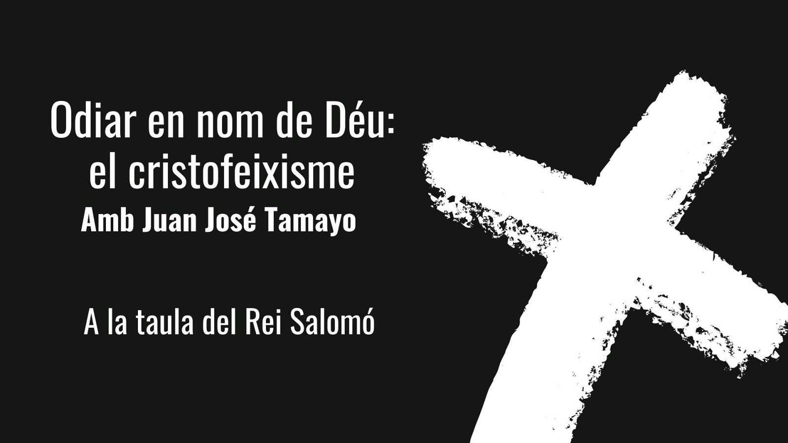 Wonderland - La taula del Rei Salomó. Entrevista a Juan José Tamayo, 1ª part. Amb Cristina Hernández