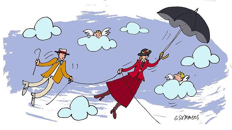 ¡Pero qué invento es esto! - El paraguas y la sombra de Mary Poppins - Escuchar ahora