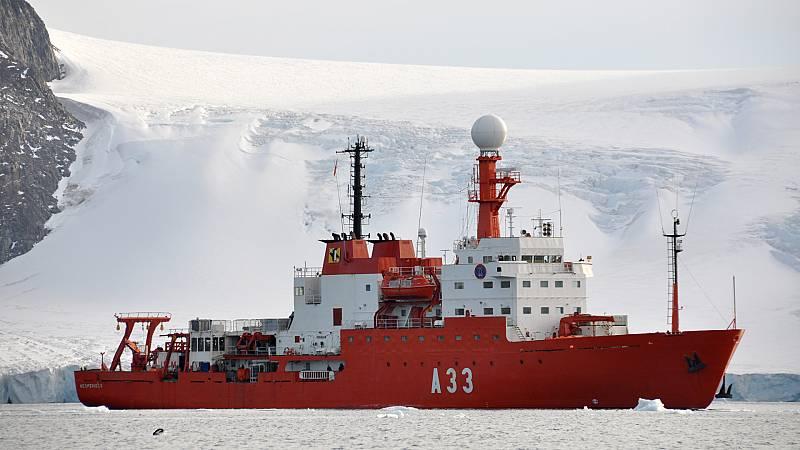Españoles en la mar - El Hespérides no cruzará este año el círculo polar antártico - 15/01/21 - escuchar ahora