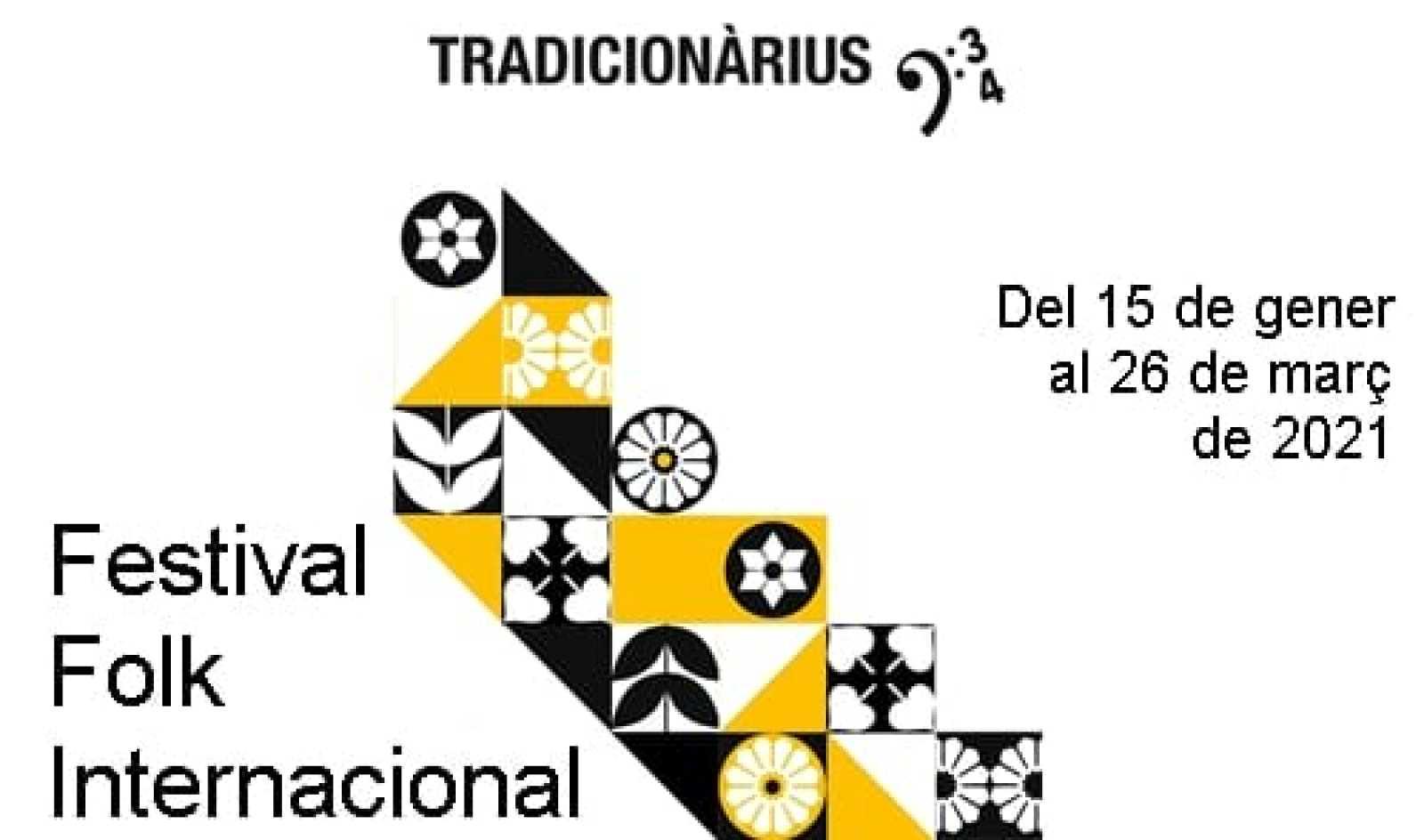 Tradicionàrius - Presentació del 34è Festival Internacional Folk Tradicionàrius