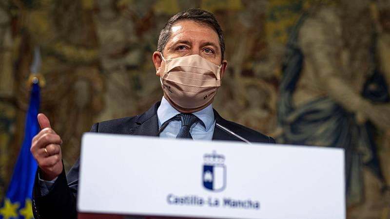 14 horas - Castilla-La Mancha confina sus municipios, cierra la hostelería y adelanta el toque de queda a las 22.00 - Escuchar ahora