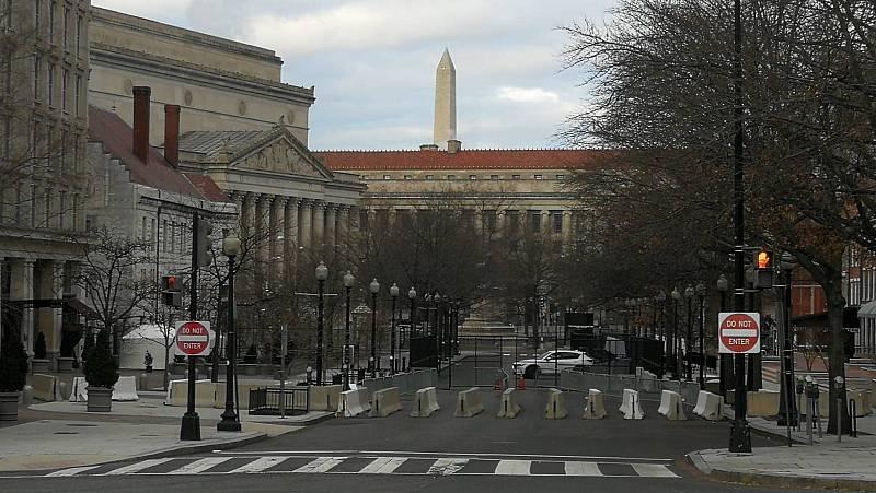 14 horas - Washington, blindado: 25.000 soldados vigilan el Capitolio y la Casa Blanca - Escuchar ahora