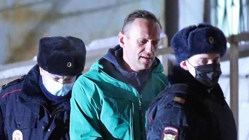 24 horas - La comunidad internacional, preocupada por la detención del líder opositor ruso Navalny - Escuchar ahora