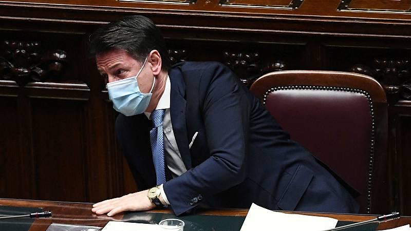 Las mañanas de RNE con Íñigo Alfonso - Giuseppe Conte somete su cargo a la confianza del Senado con una gran incertidumbre - Escuchar ahora