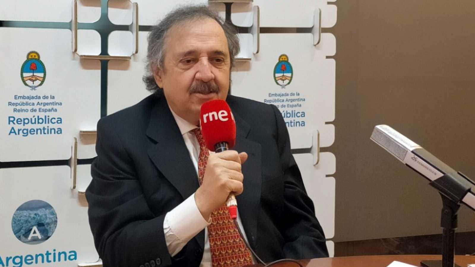 Hora América - Ricardo Alfonsín, embajador de Argentina en España - 18/01/21 - escuchar ahora