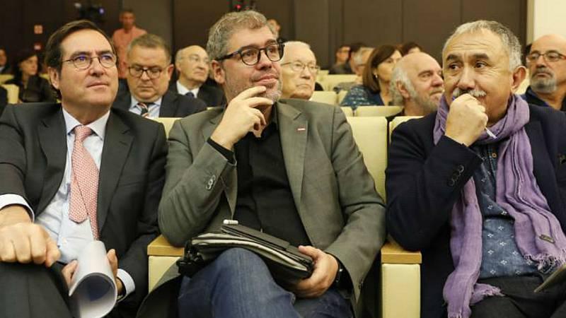 Boletines RNE - Patronal y Sindicatos dan su visto bueno al último borrador para prorrogar los ERTE - Escuchar ahora