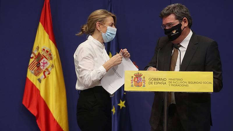 24 horas - Gobierno y agentes sociales acuerdan una prórroga de los ERTE hasta el 31 de mayo - Escuchar ahora