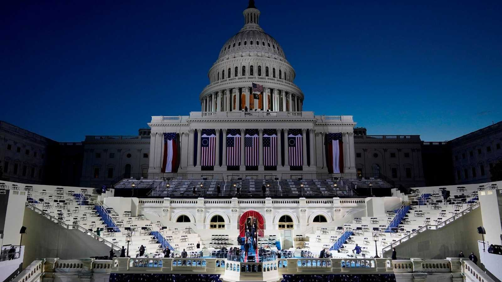 14 horas - Biden asumirá el cargo de presidente de Estados Unidos en una ceremonia completamente atípica - Escuchar ahora