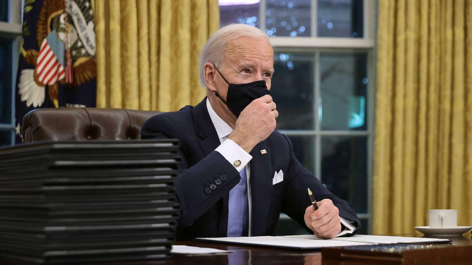 24 horas - Mesa del Mundo | Política exterior: Los retos de Joe Biden en el plano internacional - Escuchar ahora
