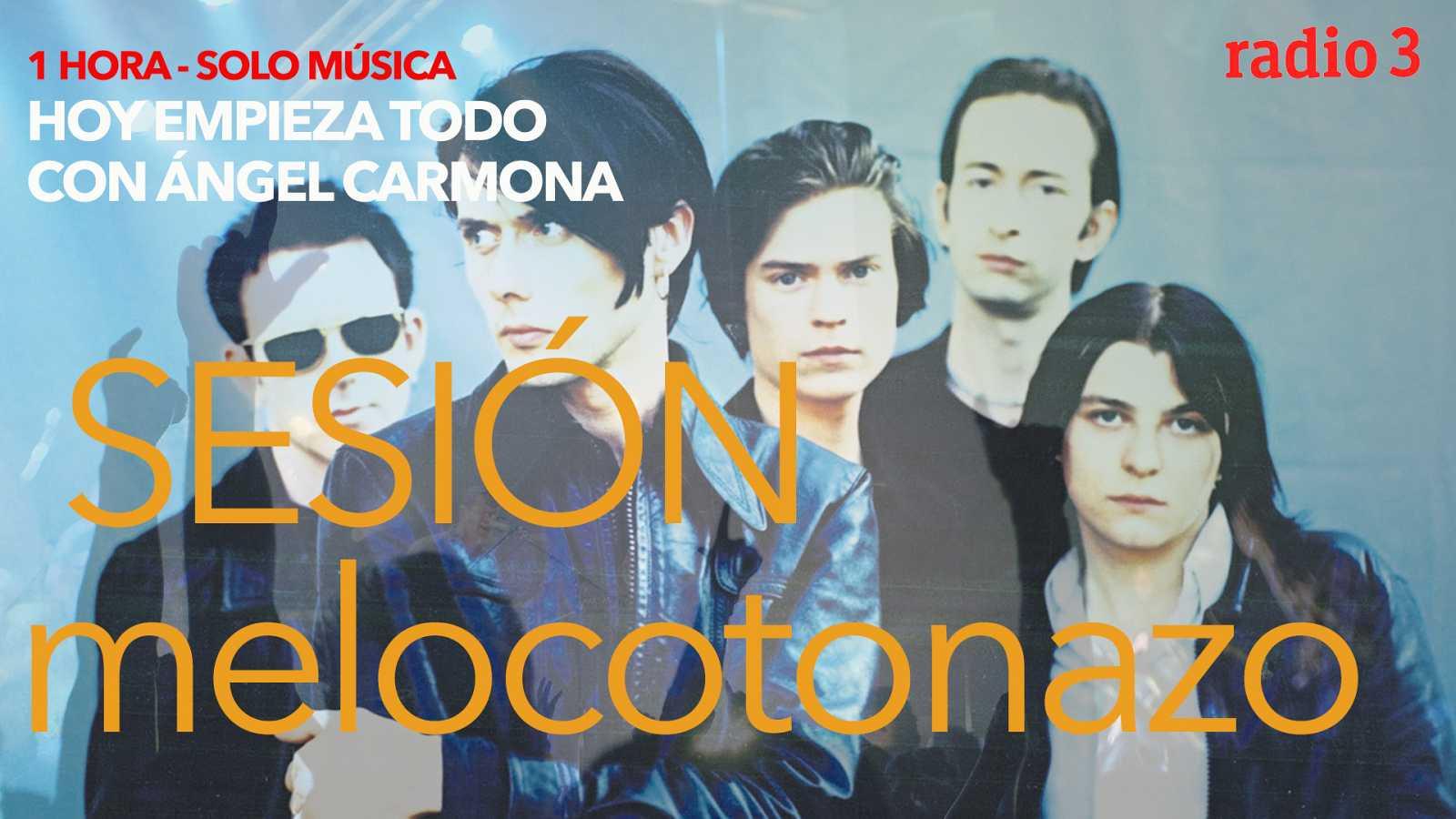 Hoy empieza todo con Ángel Carmona - #SesiónMelocotonazo: Massive Attack, Suede, Blur... - 21/01/21 - escuchar ahora