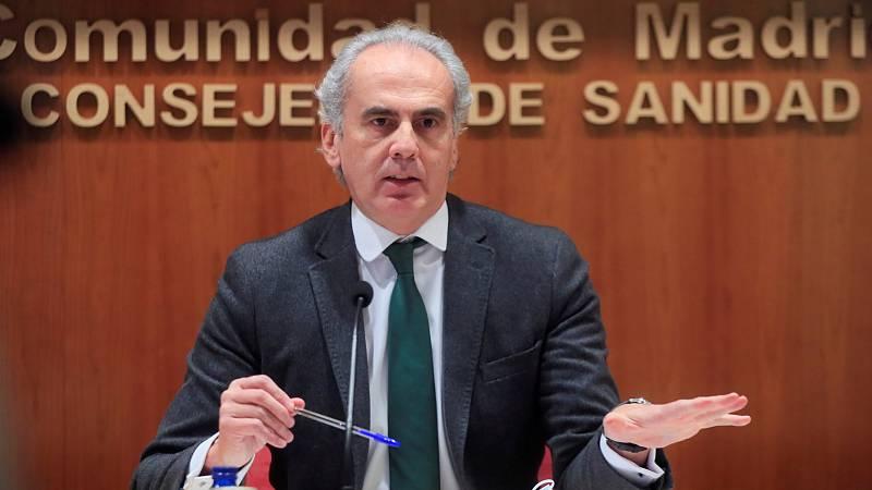 """14 horas - Madrid suspende la vacunación a los sanitarios de primera línea """"por falta de dosis""""  - Escuchar ahora"""