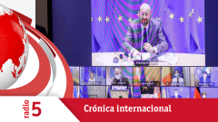 Crónica internacional - La UE pide reducir la movilidad interna