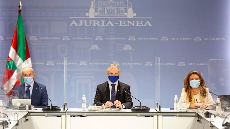 14 horas - País Vasco cierra sus municipios y reduce las reuniones a cuatro personas - Escuchar ahora