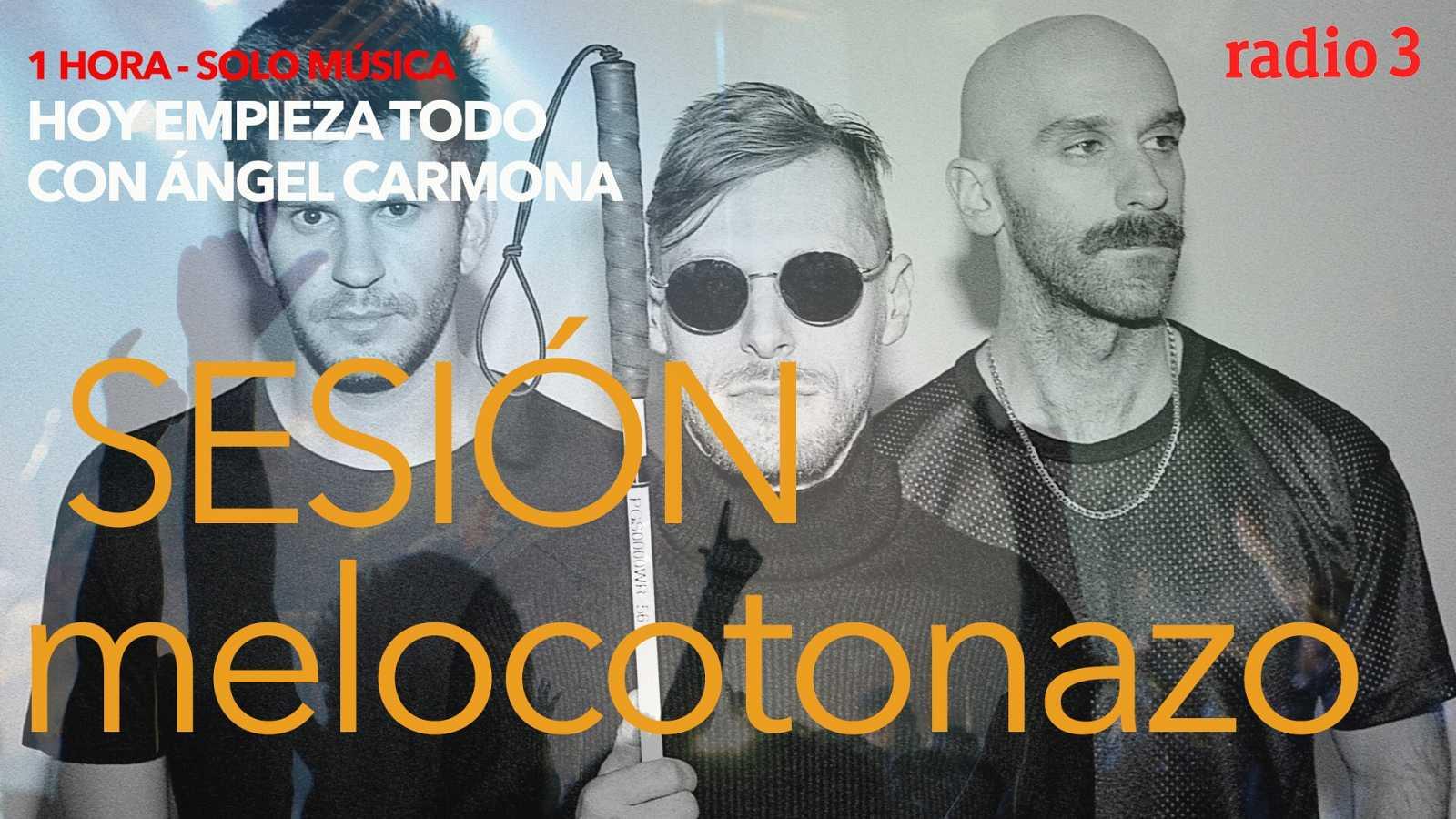 Hoy empieza todo con Ángel Carmona - #SesiónMelocotonazo: Tom Jobin, X Ambassadors, Sonic Youth...- 25/01/21 - escuchar ahora