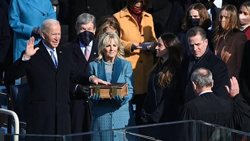 El español urgente con Fundéu RAE - Toma de posesión de Biden - 25/01/21 - Escuchar ahora