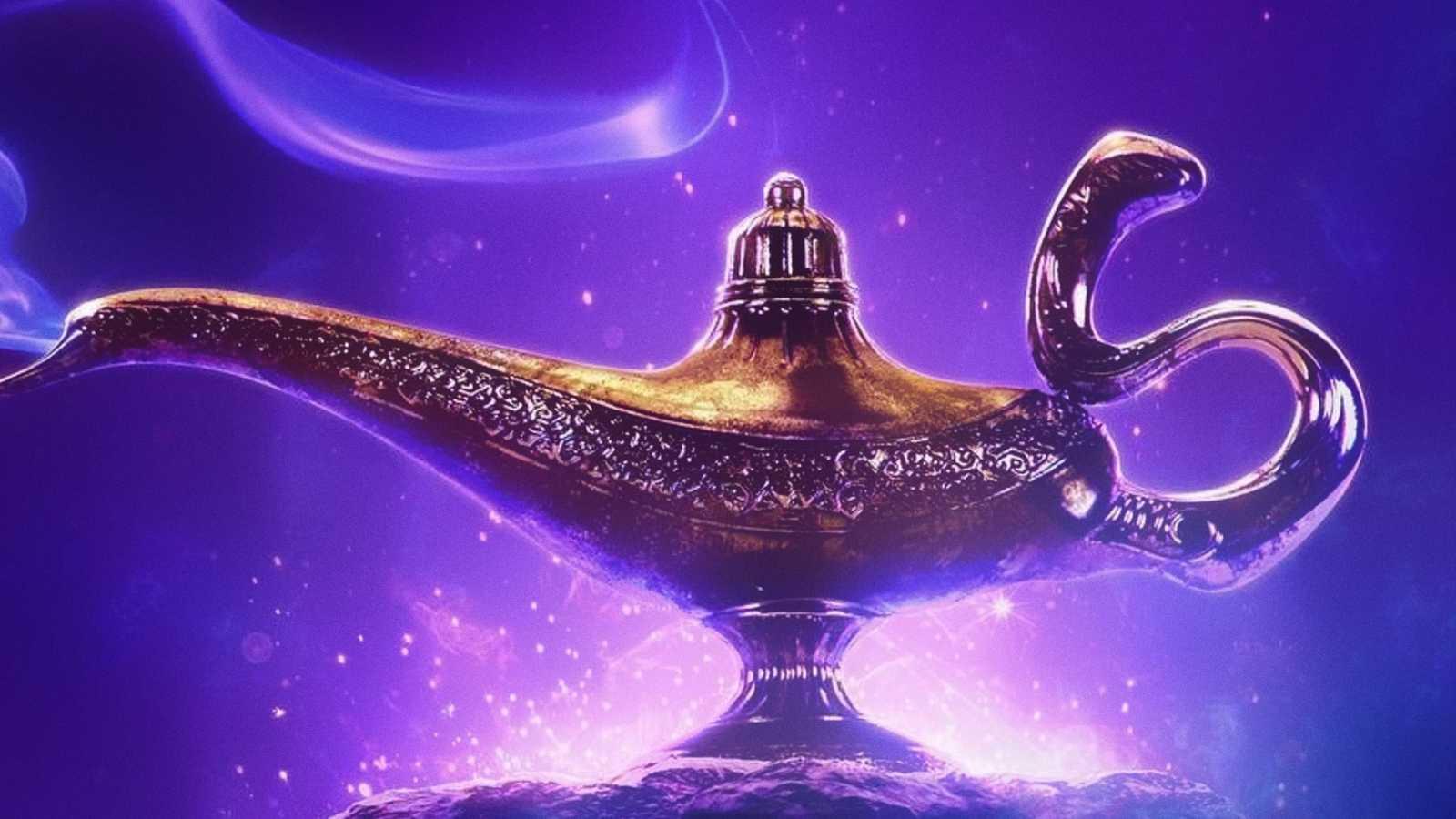 Aladino y la lámpara tramposa - escuchar ahora