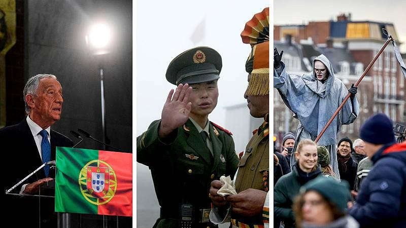 Cinco continentes - Rebelo de Sousa, reelegido - Escuchar ahora