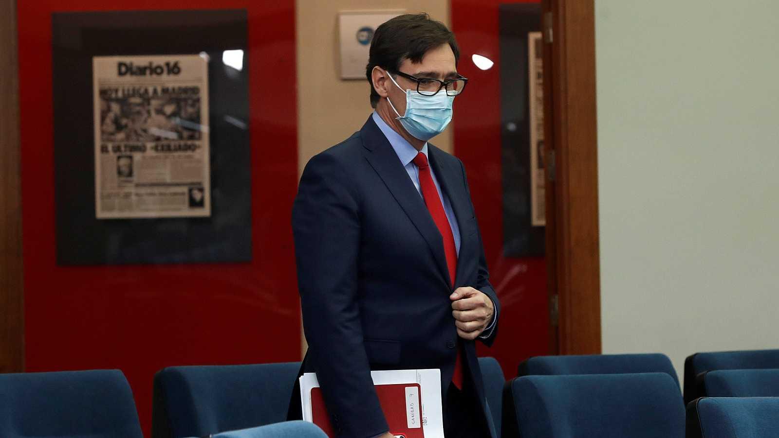 """14 horas - Illa se despide de Sanidad: """"Estoy convencido de que vamos a erradicar el virus"""" - Escuchar ahora"""