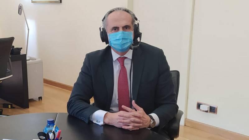 """Madrid Informativos - RNE - Ruiz Escudero: """"El Gobierno no lidera cuando la pandemia va mal para que las comunidades parezcan las culpables"""" - Escuchar ahora"""