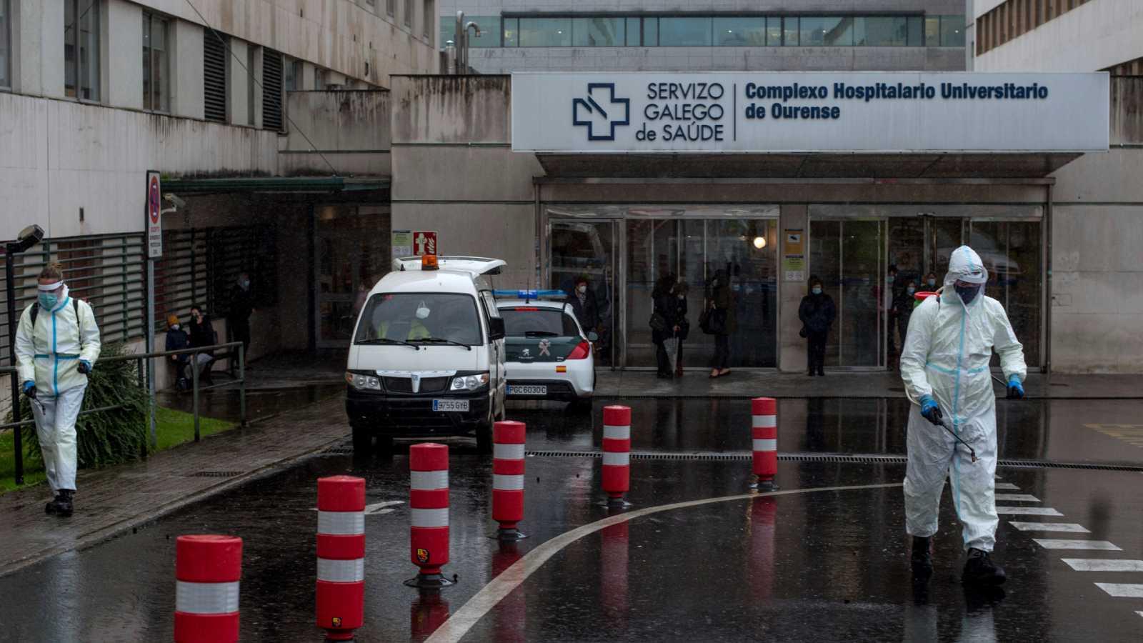Boletines RNE - España registra 591 fallecidos con coronavirus en 24 horas, el peor dato desde la primera ola - Escuchar ahora