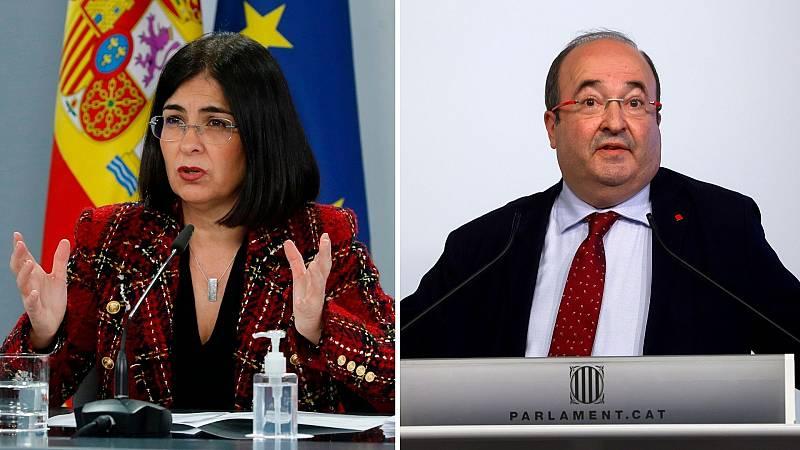 24 horas - Carolina Darias, nueva ministra de Sanidad y Miquel Iceta asume la cartera de Política Territorial - Escuchar ahora