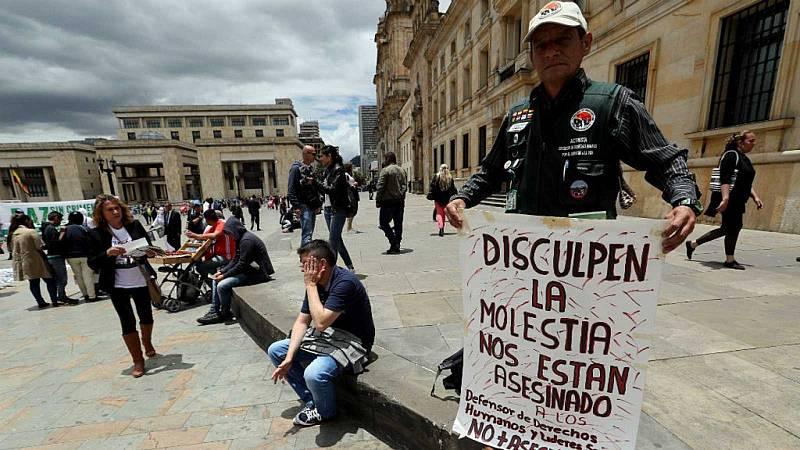 Reportajes 5 Continentes - Lideres sociales asesinados en Colombia - Escuchar ahora