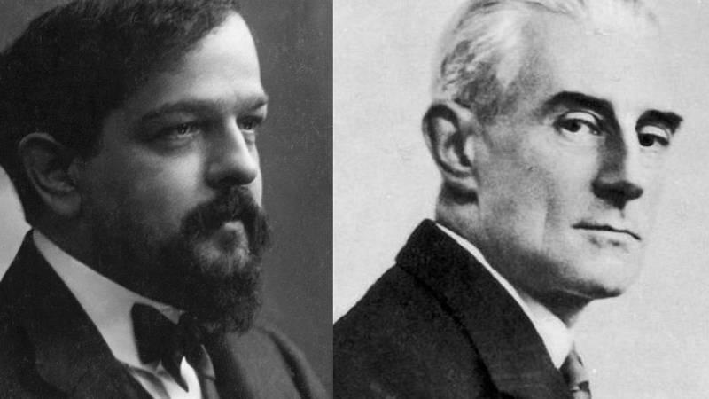 Relato sobre  Debussy y Ravel - escuchar ahora