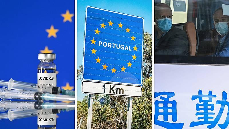 Cinco continentes - Portugal se autoaisla - Escuchar ahora