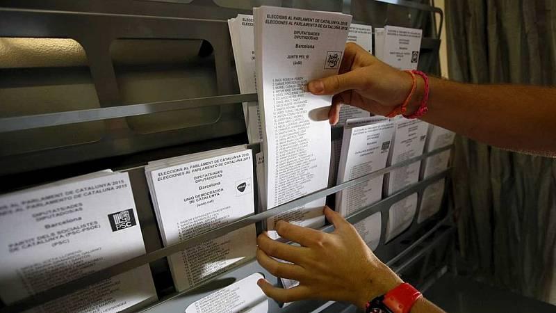 24 horas - ¿Cómo se votará en Cataluña? - Escuchar ahora