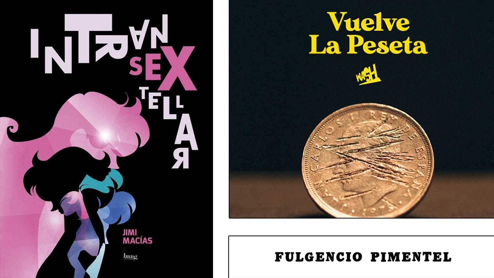 ¡Qué de cómics! - Intransextellar, Fulgencio Pimentel y Vuelve la Peseta - Escuchar ahora