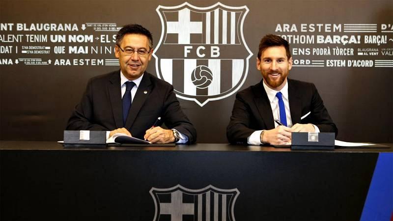 "Tablero Deportivo - Esteban Urreiztieta: ""Messi ganó 115 millones de euros solo por renovar"" - Escuchar ahora"