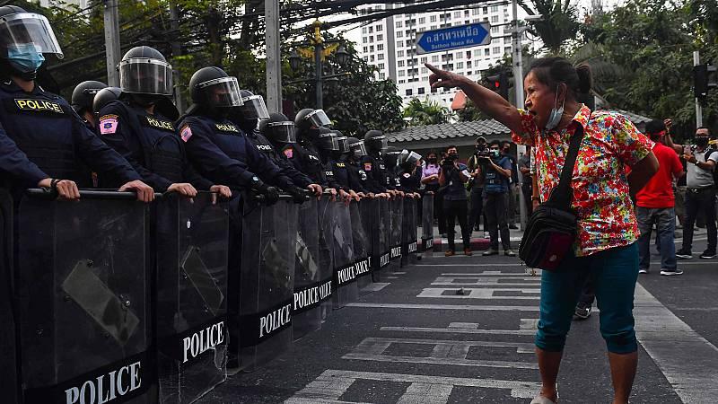 24 horas - Mesa del mundo: reacciones internacionales al golpe de Estado en Myanmar  - Escuchar ahora