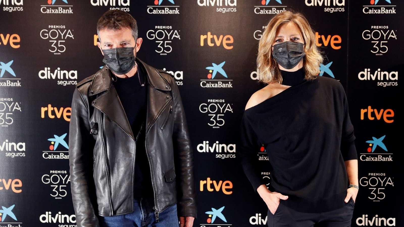 Boletines RNE - La Gala de los Goya será en fomato televisivo y sin público ni nominados - Escuchar ahora